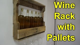 Pallet Wine Rack - Easy, Simple Diy Project