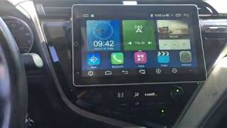 Linkswell Motorized IQ screen in 2019 Toyota Camry
