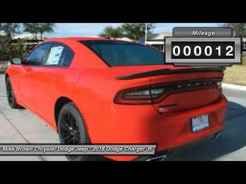2018 Dodge Charger Granbury Tx 186287 Youtube