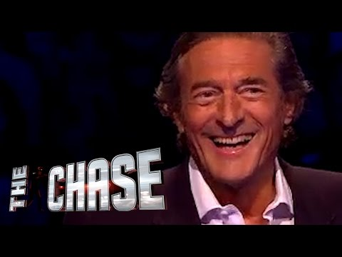 The Celebrity Chase - Nigel Havers Is An Italian National Treasure With Nice Trainers!
