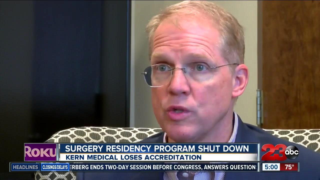 Kern Medical loses general surgery residency program