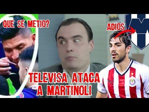 Televisa AT4CA a Martinoli, Captan Inhalando a Edson y CHIVAS se DESMANTELA FUERA Pizarro Cruda
