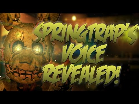 Spring Trap's Voice Is Revealed!