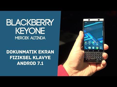 BlackBerry'nin yeni amiral gemi telefonu KEYone mercek altında