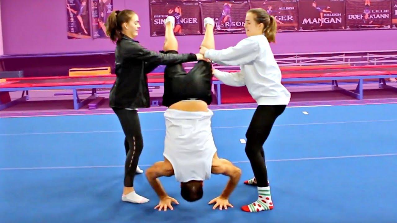 teaching-our-dad-gymnastics