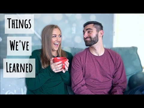 Things We've Learned In Our First Year Of Marriage!  || Christian Newlywed Advice