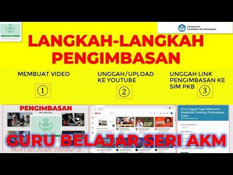 Langkah-Langkap Membuat Pengimbasan AKM+Upload Video Ke Youtube