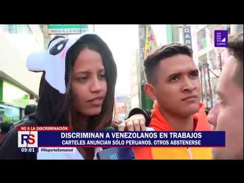 Reporte Semanal: buscando trabajo a la venezolana