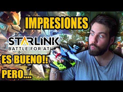 Starlink es BUEN JUEGO!! Pero... | Regresa StarFox! | Pre-Análisis (Nintendo Switch)
