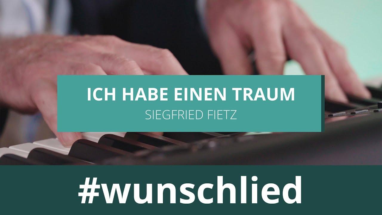 Siegfried Fietz singt 'Ich habe einen Traum' #wunschlied