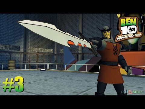 Ben 10: Protector of Earth - PSP Playthrough 1080p Area 51  (PPSSPP) PART 3