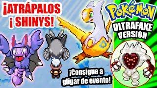 ¡CÓMO TENER a JIRACHI y LEGENDARIOS DE EVENTO + GLIGAR SHINY!  Pokémon UltraFake Scorph