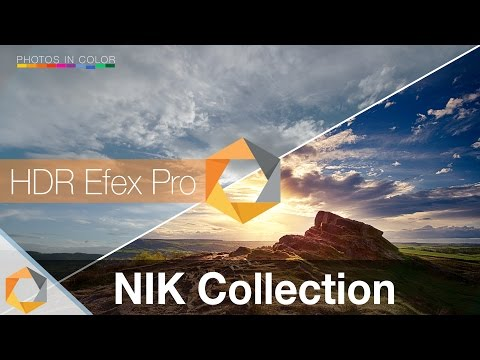Nik Collection Tutorial - Part 4 - HDR Efex Pro Photoshop And Lightroom