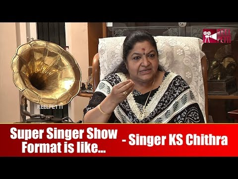 Super Singer Show Format Is Like... - Singer KS Chithra Interview Part 3 | Reel Petti