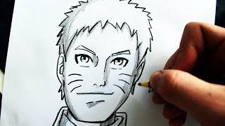 Como Desenhar Naruto Uzumaki [Naruto 7º Hokage] - (How to Draw Naruto Uzumaki) - SLAY DESENHOS #148
