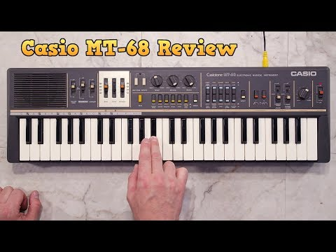 Casio MT-68 keyboard review with Anders Jensen