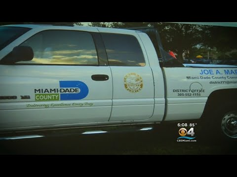 Miami-Dade Commissioner Makes Plea For Stolen Pickup: 'This Is Your Truck, Help Us Get It Back'