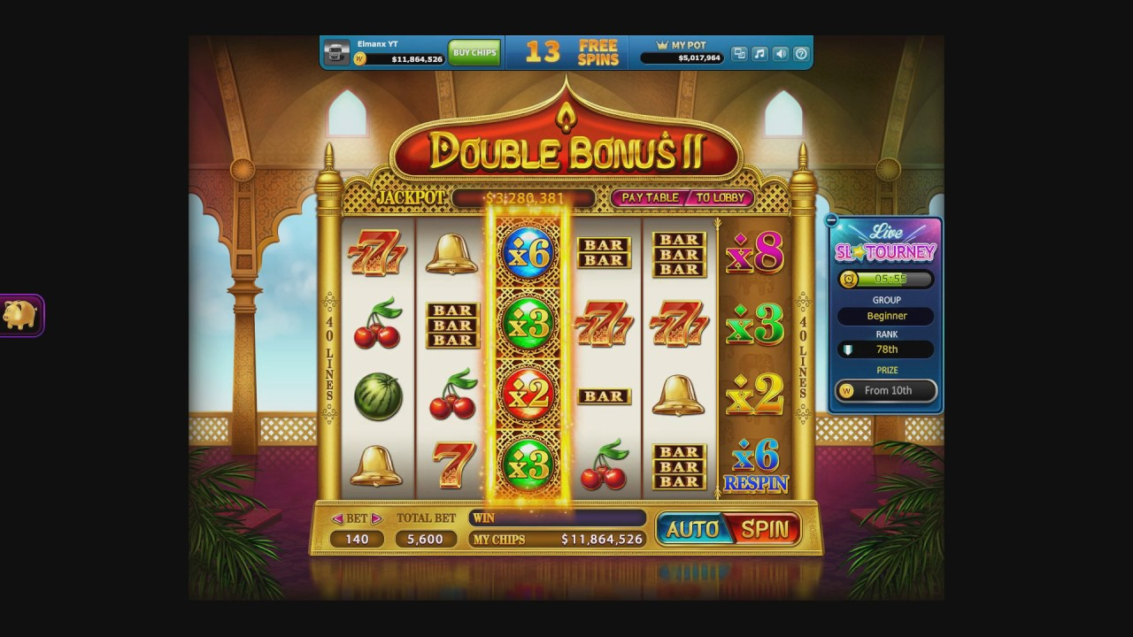 30 Daily Free Spins Doubleu Casino On Facebook 2 2 2017 Youtube