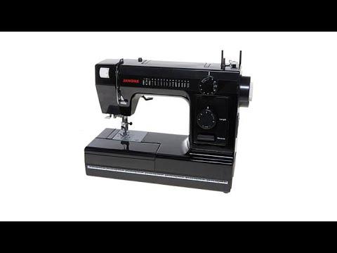 Janome 40Stitch Heavy Duty Sewing Machine With Accessori YouTube Gorgeous Janome Hd1000 Black Edition Heavy Duty Commercial Grade Sewing Machine