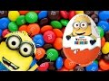 Huevo Kinder Kinder surprise minions minionki despicsble me EPISODE 2 sürpriz yumurta