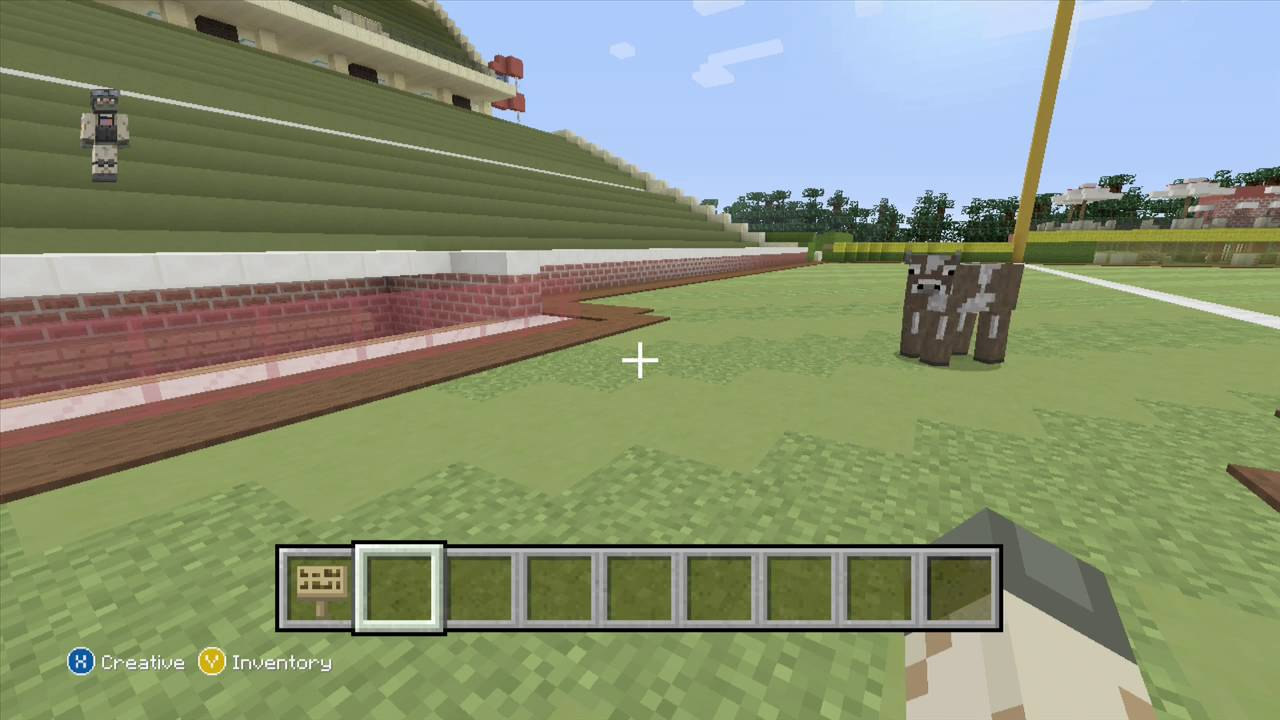 amazing baseball stadium built on minecraft xbox 360 youtube