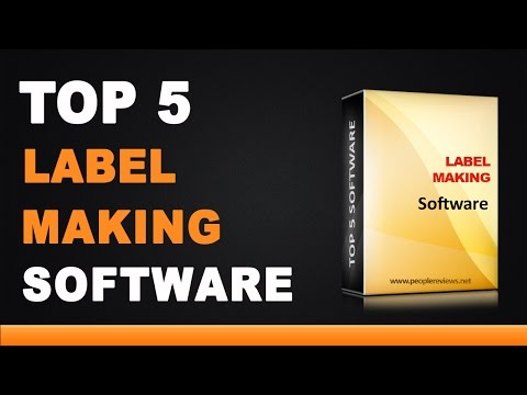 Best Label Making Software - Top 5 List