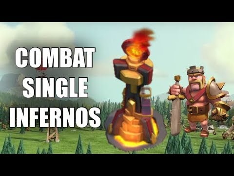 How to Attack Against Single-Targeted Inferno Towers | Clash of Clans