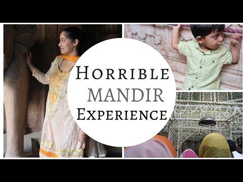 Horrible Mandir Experience   Vrindavan Banke Bihari Temple   Indian Mommy Vlogging channel