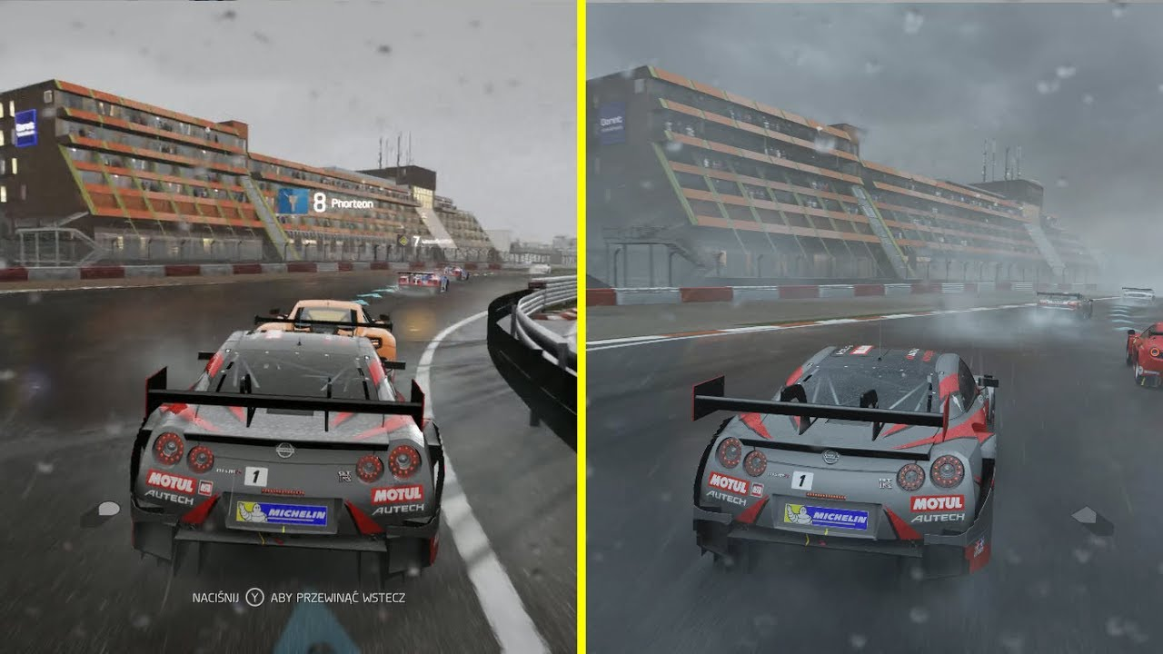 forza 6 xbox one s vs xbox one x forza 7 4k graphics. Black Bedroom Furniture Sets. Home Design Ideas