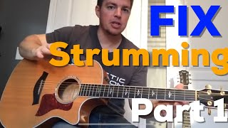 Fix Your Strumming (Part 1) - Country Song Teacher