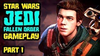 Star Wars: Jedi Fallen Order Gameplay - Let's Play Part 1