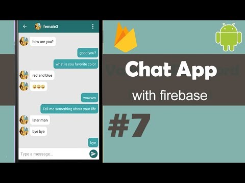 Chat App With Firebase Part 7 - Send Message - Android Studio Tutorial