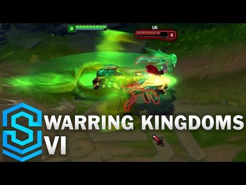 Warring Kingdoms Vi Skin Spotlight - League of Legends