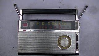 1964 Wards Airline Transistor Radio Diagnosis And Repair