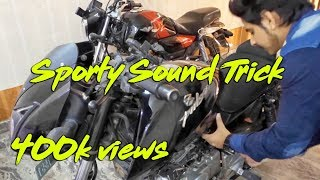 Do it yourself || Sporty Sound in Your Bike For Free