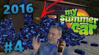 My Summer Car 2016 (#4) - WYBUCHOWA BALANGA PIWNA W SKLEPIE BIAŁEGO TEIMO