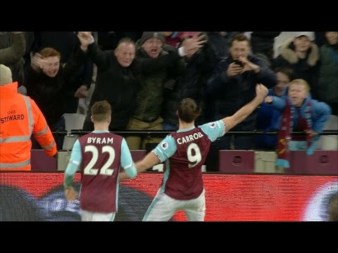 West Ham thrash Crystal Palace in 3-0 win