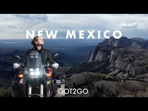 NEW MEXICO: a SCENIC motorcycle roadtrip from Chama to Taos and Eagle Nest