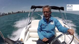 zar 57 welldeck in prova sul lago michigan chicago usa italiano