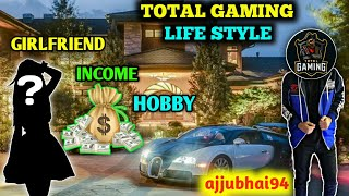 Lifestyle of Total Gaming (Ajju Bhai94) | Full Biography of Total Gaming | Family, Income, Hobby etc