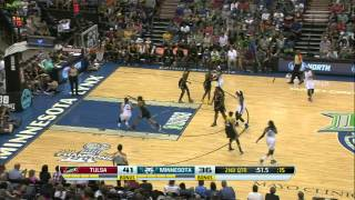 Game Recap: Tulsa Shock vs Minnesota Lynx
