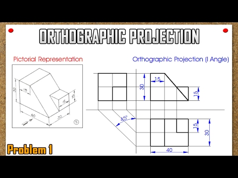Orthographic Projection_Problem 1