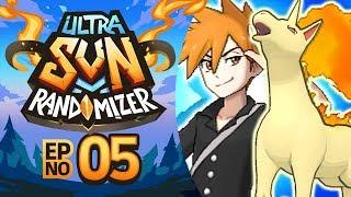 BATTLING A CHAMPION?! | Pokémon Ultra Sun Randomizer Nuzlocke - Episode 05