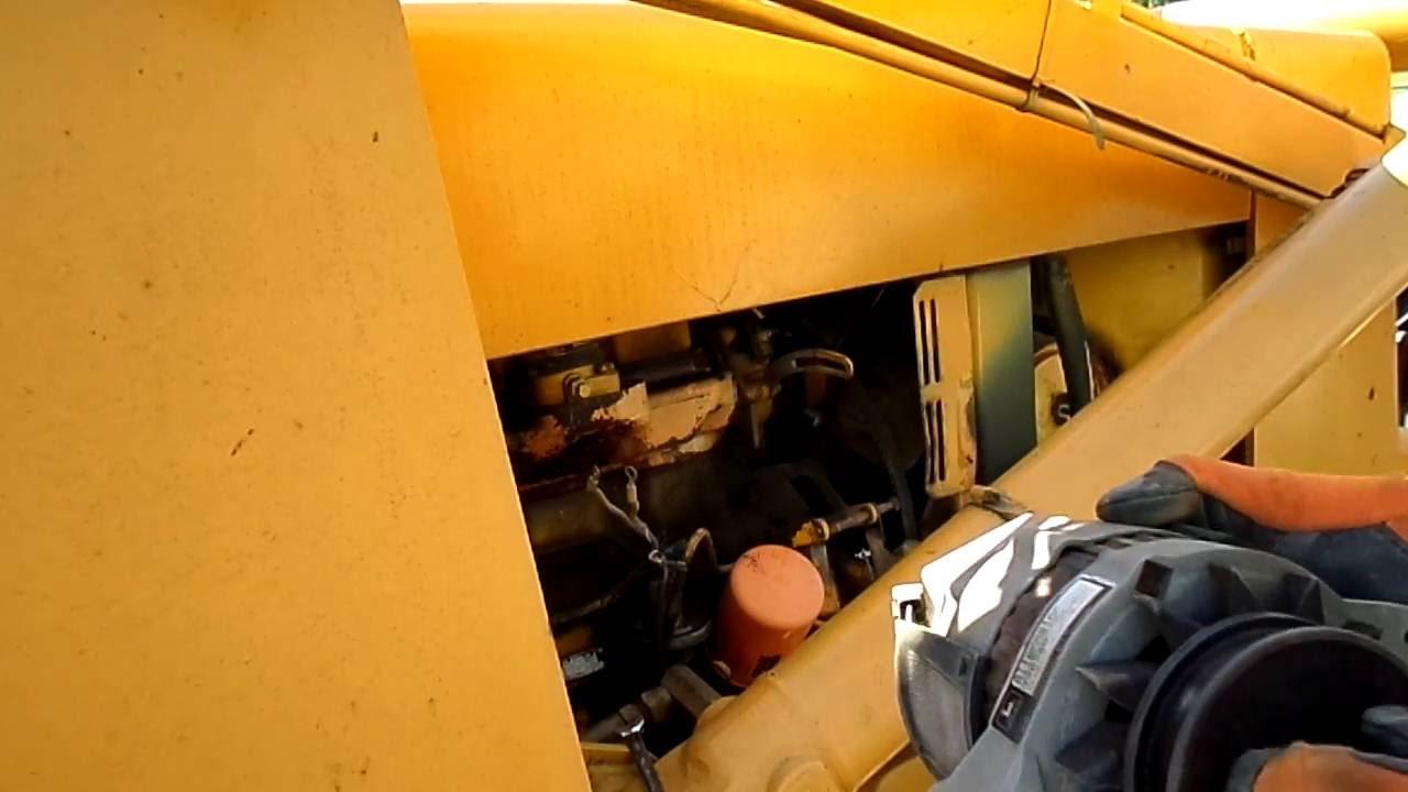 medium resolution of alternator removal from the john deere 310a
