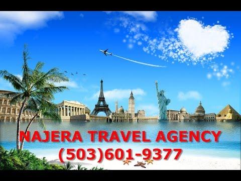 Beaverton Travel Agents - Beaverton Travel Agency - Najera Travel Agency Beaverton, Portland, Aloha