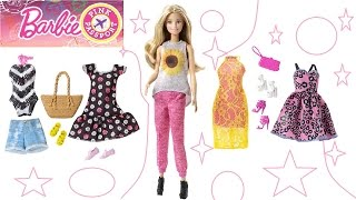 Кукла Барби - Модница! Одевалки. БАРБИ ЛЕТИТ НА ФОТОСЕССИЮ Pink Passport Барби Мультики