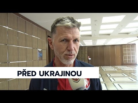 Česká reprezentace se připravuje na zápas s Ukrajinou