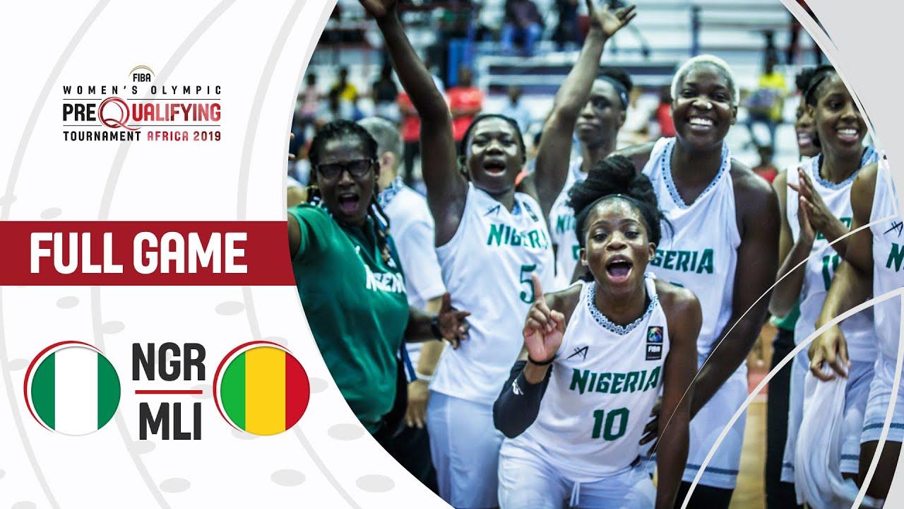 Nigeria v Mali - Full Game - FIBA Women's Olympic Pre