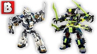 Lego Ninjago Titan Mech Battle Set 70737 | Unbox Build Time Lapse Review