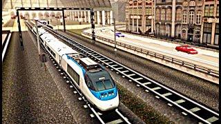 Euro Train Racing 2018 - Level 4-5